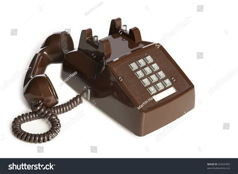 Old Desk Phone Off The Hook Stock Photo 62925499