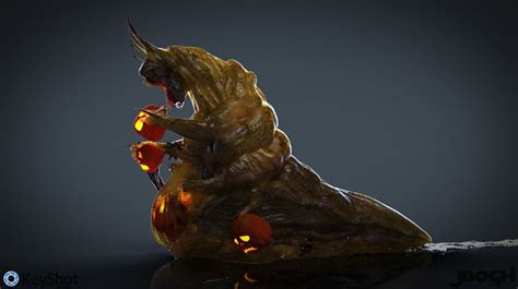 Create scary 3D art to win animation software   Creative Bloq