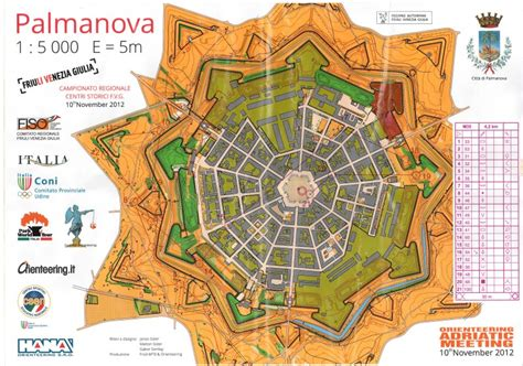 Orienteering maps from Italy