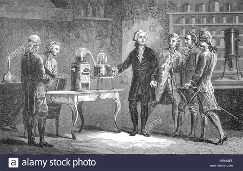 Antoine Lavoisier, Composition of Air, 1776 Stock Photo