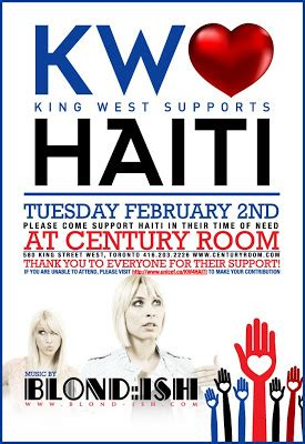 King West Supports Haiti Charity Event | Streetwear
