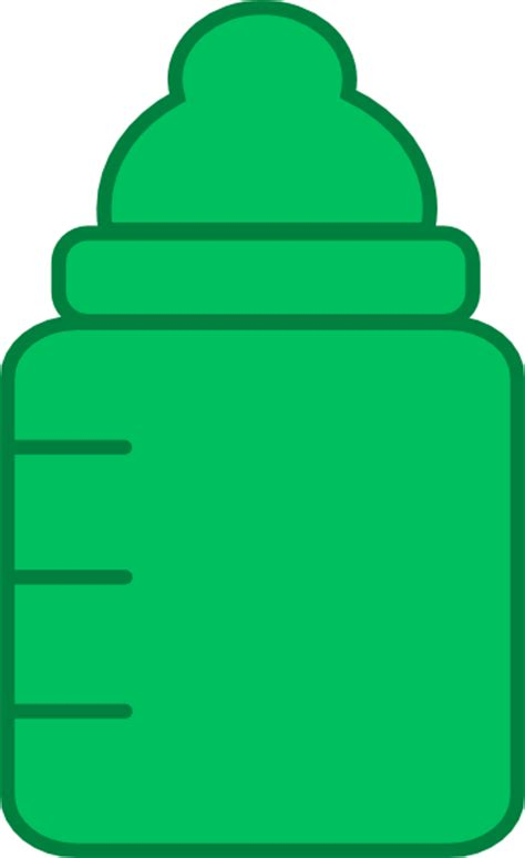 Baby Bottle Silhouette Clip Art at Clker