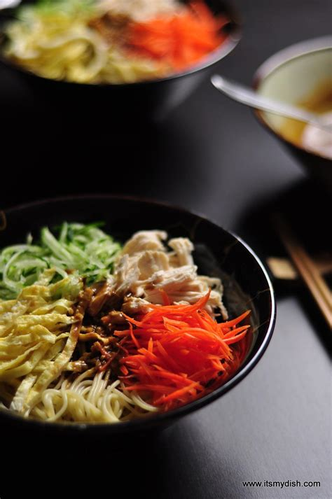 Chinese Cold Noodles 中華涼麵 - It's My Dish