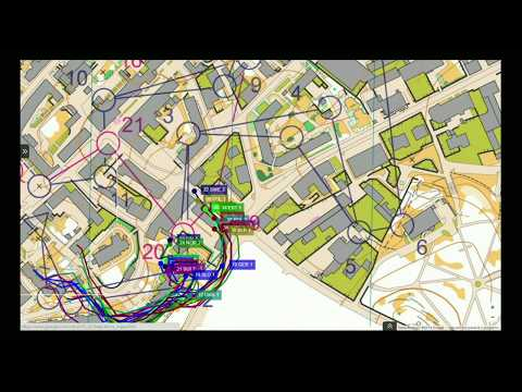 Mobile orienteering combines physical exercise with mobile