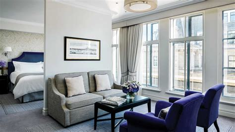 Luxury Hotel Suite with City View | The Langham, London