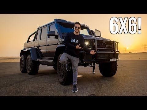 Mercedes G63 AMG 6x6 Bathing in the Red Sea - autoevolution