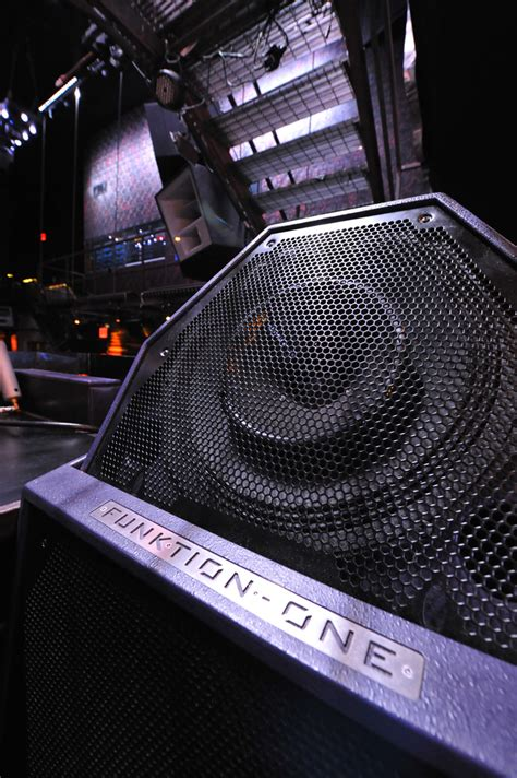Funktion-One   Products   PSM318 DJ Monitor