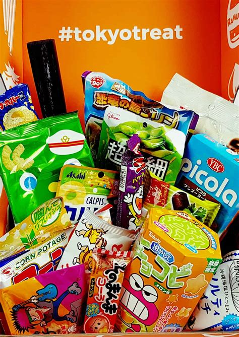TokyoTreat – Japanese Candy August 2017 Asian Summer