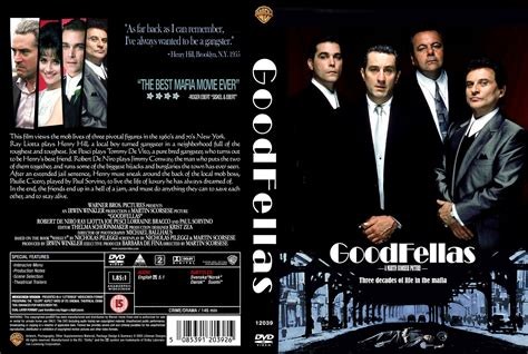 Goodfellas (1990) | Movie Poster and DVD Cover Art