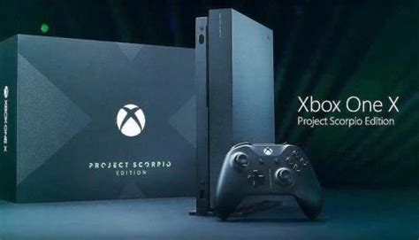 Previously sold out Xbox One X 1TB Project Scorpio Limited