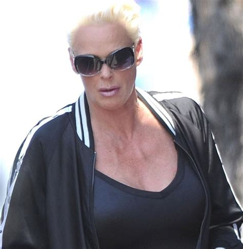 54 Year Old BRIGITTE NIELSEN Out With Belly
