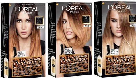 L'Oreal Preference Wild Ombre Kit #3 – Review | michleoz