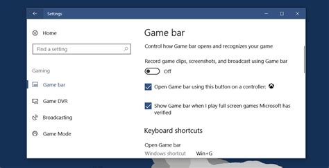 How To Turn Off Game Bar In Windows 10
