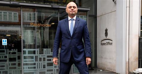 Sajid Javid's Pose Outside The Home Office Shows The Tory
