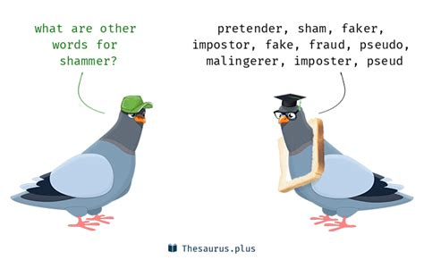 Words Impostor and Shammer have similar meaning