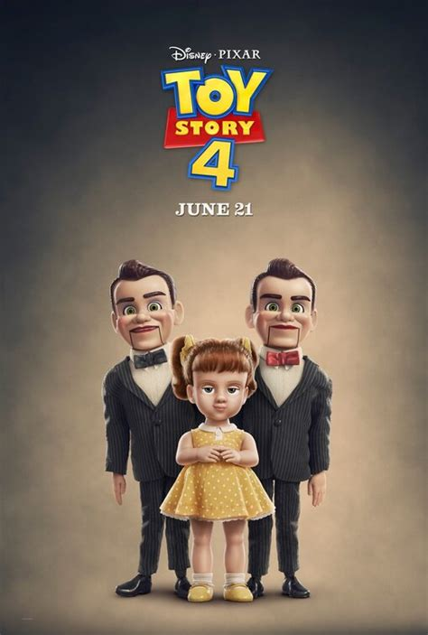 Toy Story 4 Movie Poster (#28 of 29) - IMP Awards