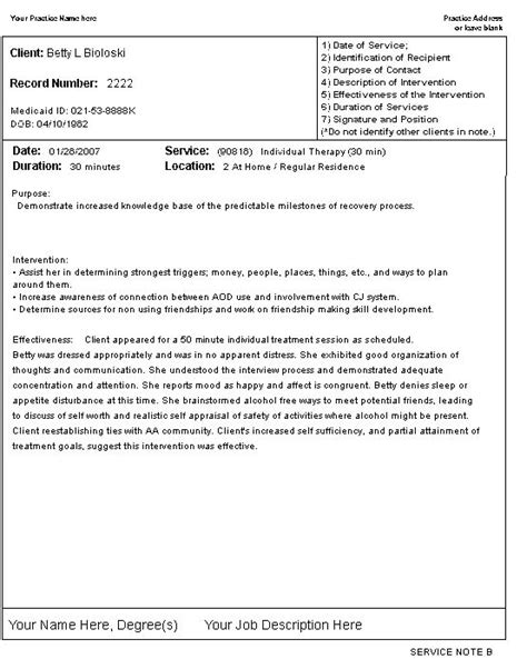 psychotherapy progress notes template - Google Search