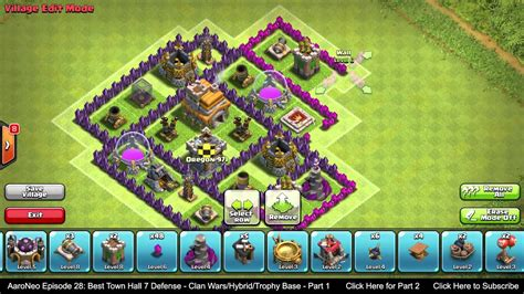 BEST Town Hall Level 7 (TH7) Defense Strategy - Clan Wars