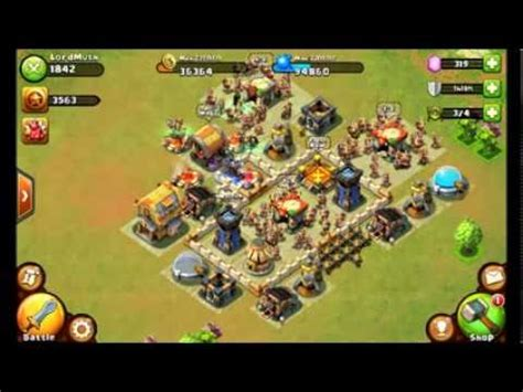 Castle Clash - Best Defense for Town Hall Level 6!! - YouTube